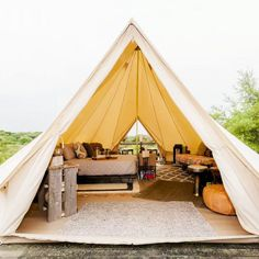 The Best Glamping Spots On Airbnb - Who says you have to rough it to go camping? - Photos