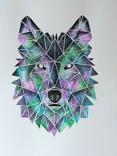 Traditional Black Tattoo, Traditional Tattoo Flowers, Traditional Sleeve, Watercolor Wolf, Watercolor Galaxy, Geometric Quilt, Geometric Art, Lion Painting, Fabric Painting