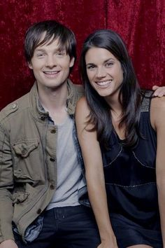 Gregory Smith and Missy Peregrym (Dov Epstein & Andy McNally)