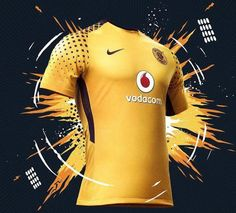 The new Kaizer Chiefs jerseys introduce modern designs in the club's famous colors. Football Shirt Designs, Football Tops, Sport Football, Football Jerseys, Team Wear, Sport Wear, Sport T Shirt, Kaizer Chiefs, Sports Graphic Design