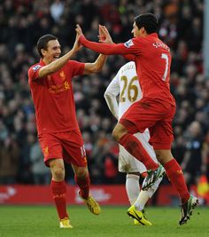 Pics: Five-star Reds sink Swans - Liverpool FC