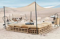 Moroccan Glamping at the Scarabeo Camp