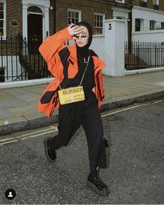 Modest Fashion Hijab, Street Hijab Fashion, Casual Hijab Outfit, Abaya Fashion, Muslim Fashion, Modest Outfits, Hijab Chic, Retro Outfits, Trendy Outfits