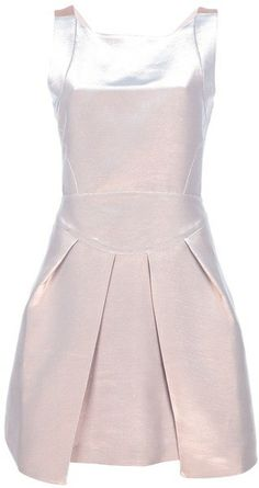 FASHION: Metallics trend <3 love dress, shoes, fashion, skirt, pants, fall trend 2013
