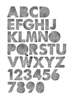 Identity font by Vincent Hary