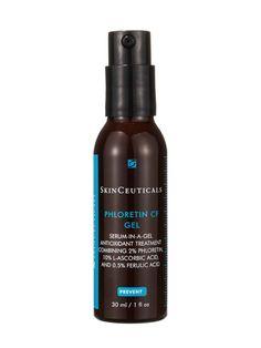 Dermatologists love the combination of vitamin C and ferulic acid in SkinCeuticals Phloretin CF Gel