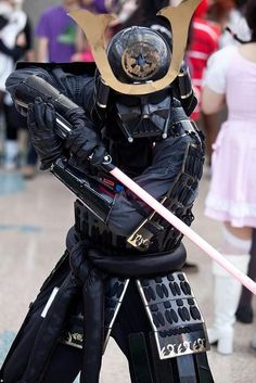 Turn heads at any Comic-Con event or Renaissance festival by combining stormtrooper garb with that of the traditional Japanese samurai. Photo Credit: Flickr user - Boo Radlus