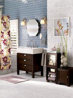 Studio 188 - eclectic - bathroom - chicago - The Tile Gallery