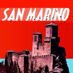 3 kuleleriyle meşhur olan San Marino aynı zamanda Avrupa'nın en küçük 3. ülkesidir! #Maximiles #SanMarino #ArtDeco #vintage #poster #travel #city #postcard #holiday #vacation #seyahat #tatil #şehir #kartpostal #gezi #nature #ÖzgürceUç #DünyaSizin #OnuİyiKullanın #ŞehirPosterleri Poster City, Travel Posters, Art Deco, Italy, Retro, Movies, Movie Posters, Vintage, Instagram