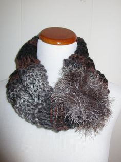 CowlMuli Colored Bulky Knit Cowl In Colors by CoralsChicBoutique
