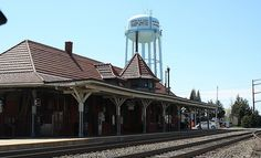 Old Town Manassas Train Station - Built in 1914
