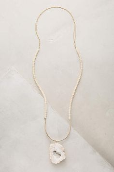Percival Geode Necklace - anthropologie.com
