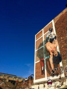 Street art - Martin Ron - Brick Lane, Shoreditch, London.