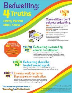 Bedwetting: 4 Truths