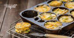 Gratins individuels de pommes de terre au cheddar #recette