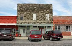 Waggoner, IL Old Business District   Photo by Randy von Liski on Flickr