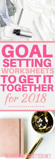 Get ready for the New Year with these goal setting worksheets. I LOVED these printables are great to keep track of my resolutions. They're easy templates to use - for life, fitness or even couple goals!! #1 is my favourite and is a productivity game chang