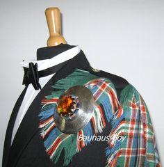 KILT FLY PLAID MACFARLANE ANCIENT SCOTTISH TARTAN 16OZ WORSTED WOOL FOR KILTS  | Clothes, Shoes & Accessories, Men's Accessories, Other Men's Accessories | eBay!