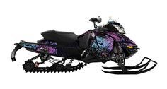Pretty snowmobile wrap - i'll take one for my arctic cat!