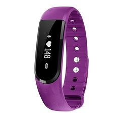 MoreFit Waterproof Heart Rate Monitor Watch, HR Wireless Activity + Sleep Wristband, Purple. <p>✔</p> Host with built-in USB plug (no cord needed), easy to get charged on USB charger or PC, a full charge lasts for 7 days. <p>✔</p> All day Heart Rate + Sports Mode Tracking, records your activity minutes and realtime stats, get a better understanding of your fitness level. <p>✔</p> Waterproof IP67 standard for shower or swim, always on and ready to go, but not for diving. We recommend…