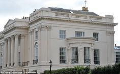The world's most expensive terraced house 1 Cornwall Terrace, London, which has gone on sale for £100 million