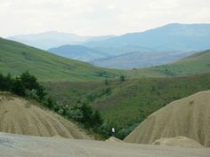 Muddy Volcanoes, Buzau county Volcanoes, Romania, Country Roads, Mountains, Nature, Travel, Voyage, Viajes, Traveling