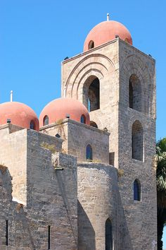 Palermo - La Chiesa di San Giovanni degli Eremiti
