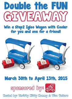 Step2 Igloo Wagon with Cooler Giveaway ~ Ends 4/13 - mama pure
