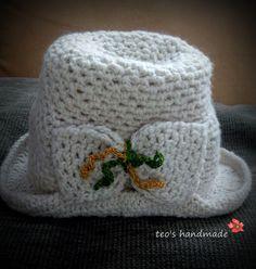 teo's handmade: Palariuta crosetata Crochet Hats, Beanie, Handmade, Fashion, Knitting Hats, Moda, Hand Made, Fashion Styles, Beanies
