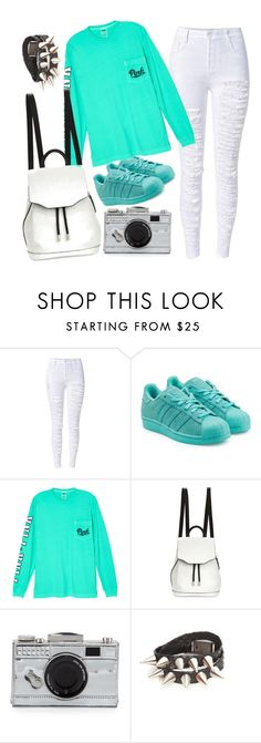 """ootd 12/12/13"" by chlola ❤ liked on Polyvore featuring moda, adidas Originals, Victoria's Secret, rag & bone e Kate Spade"