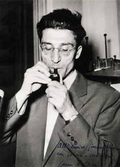 The writer Cesare Pavese- massimo rappresentante del neorealismo che evidenzia le posizioni rivendicative e politiche