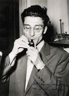 The writer Cesare Pavese
