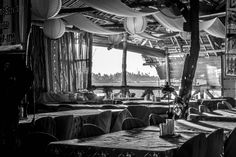 I find monochromatic shot as a better way to outline the beauty of light rays, shadows and flares Bagobos Resto Grill in Kalibo Light Rays, Outline, Travel Photos, Shadows, Grilling, Beauty, Darkness, Travel Pictures, Crickets