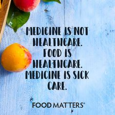 When in doubt, use nutrition first! www.foodmatters.com #foodmatters #FMquotes