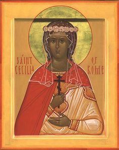 MYSTAGOGY: Holy Virgin Martyr Cecilia of Rome