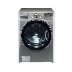 LG�4-cu ft High-Efficiency Front-Load Washer with Steam Cycle (Graphite Steel) ENERGY STAR