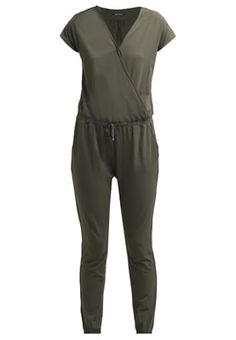 Next NAVY LEAF UTILITY PLAYSUIT - Kombinezon - green