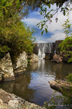 Cambará do Sul (RS) - Cachoeira dos Venâncios  Foto: Gutemberg   http://italianobrasileiro.blogspot.com/