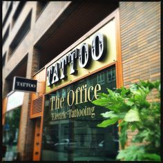 The Office electric Tattooing Rotterdam