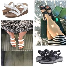 travel sandals and f