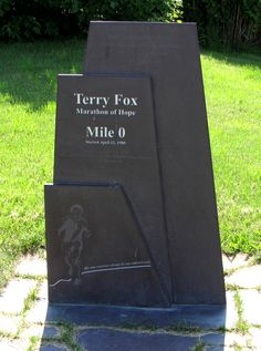 Terry Fox Grave Canadian Things, I Am Canadian, Ottawa, Montreal, Ontario, Vancouver, 1976 Olympics, Hockey, The Guess Who
