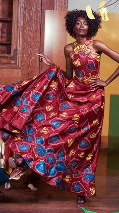 Fashion Designer: Eloi Sessou - Vlisco V-InspiredVlisco V-Inspired