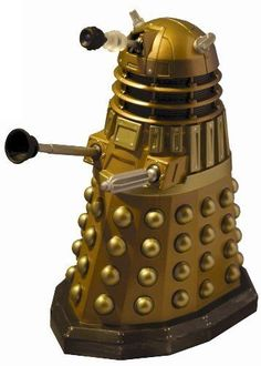 Scificollector Doctor Who Die Cast Collectable Gold Dalek - 5 inches tall #Scificollector