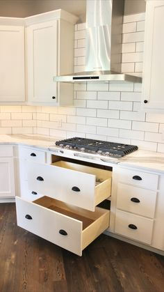 Pan Storage, At Home Store, New Kitchen, Drawers, Kitchens, Kitchen Cabinets, Appliances, Decorating, Future