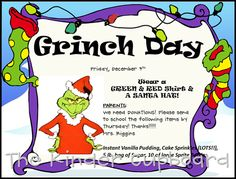#Grinch Invitation... Editable and Free
