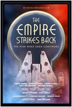 The Empire Strikes Back Posters  Created by Russell Walks