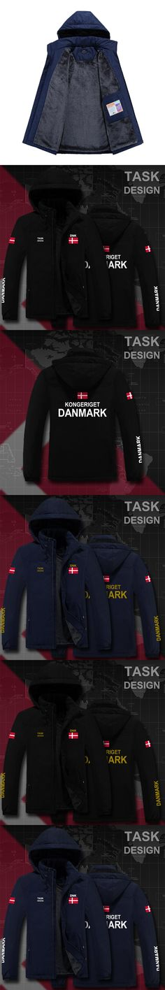 Denmark Danish Danmark DK DNK parka men winter jacket mens coat clothing fur hooded snow windbreaker bomber streetwear fashion