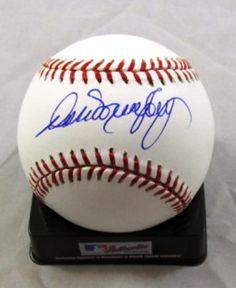 Dale Murphy Atlanta Braves Autographed MLB Baseball