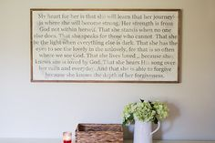 Grace's Prayer Sign