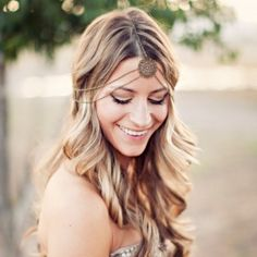 Hair inspiration for every boho bride! (Pic: Clayton Austin)